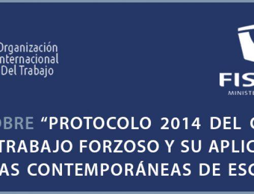 """16/09/2021: El Ministerio Público y la OIT invitan a taller sobre """"Protocolo 2014 del Convenio 29 Sobre Trabajo Forzoso y su Aplicación en las Formas Contemporáneas de Esclavitud"""""""